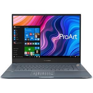 "Laptop ASUS ProArt StudioBook Pro W700G3T-AV064R, Intel Core i7-9750H pana la 4.5GHz, 17"" WUXGA, 32GB, SSD 2TB, NVIDIA Quadro RTX 3000 Max-Q 6GB, Windows 10 Pro, Turquoise Gray"
