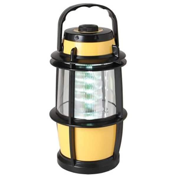 Lampa cu LED HOME CL 16L, 16 LED-uri, baterii, retea, galben