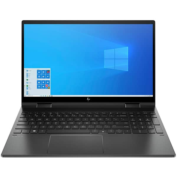 "Laptop HP Envy x360 15-ee0014nn, AMD Ryzen 5-4500U pana la 4.0GHz, 15.6"" Full HD Touch, 16GB, SSD 512GB, AMD Radeon Graphics, Windows 10 Home, negru"