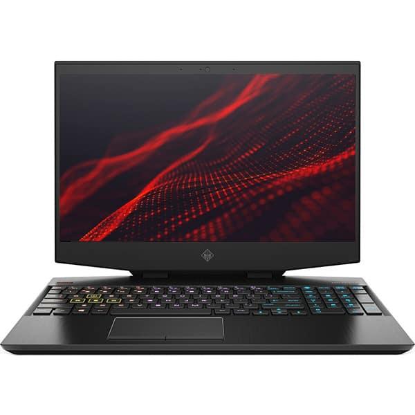 "Laptop Gaming HP Omen 15-dh0016nq, Intel Core i7-9750H pana la 4.5GHz, 15.6"" Full HD, 16GB, SSD 512GB + HDD 1TB, NVIDIA GeForce RTX 2070 8GB, Free DOS, negru"