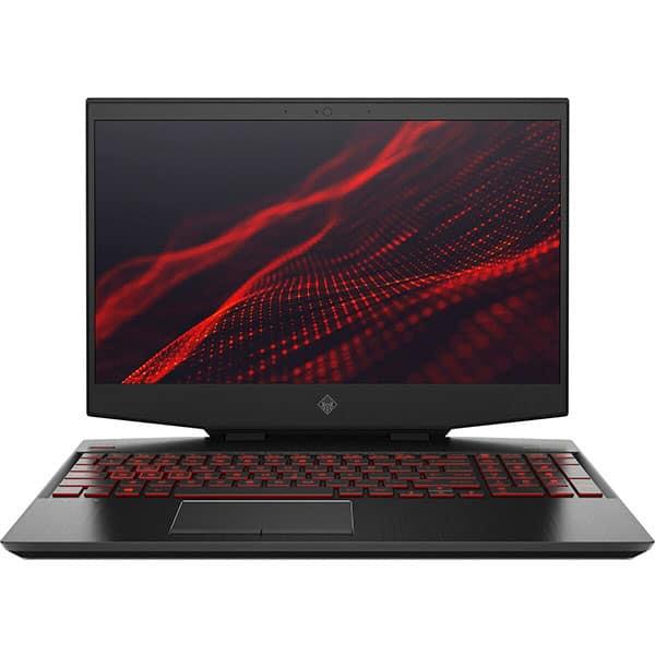 "Laptop Gaming HP Omen 15-dh0013nq, Intel Core i7-9750H pana la 4.5GHz, 15.6"" Full HD, 16GB, SSD 1TB, NVIDIA GeForce RTX 2080 Max-Q 8GB, Free Dos, negru"