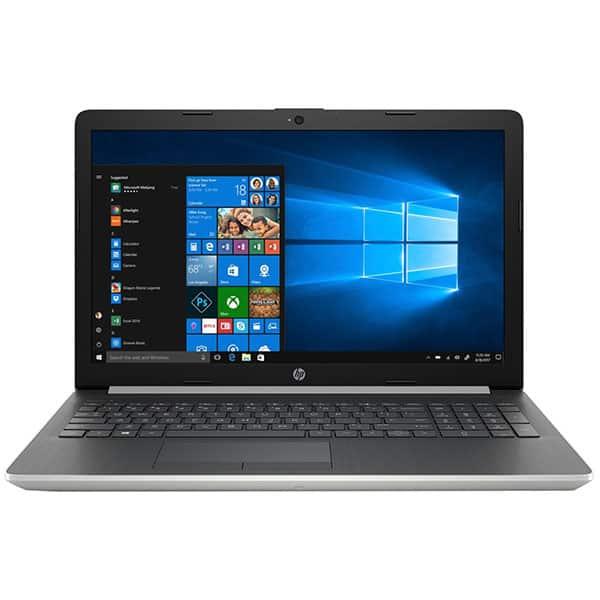 """Laptop HP 15-db1021nq, AMD Ryzen 3-3200U pana la 3.5GHz, 15.6"""" Full HD, 8GB, SSD 512GB, AMD Radeon Vega 3, Windows 10 Home, argintiu"""