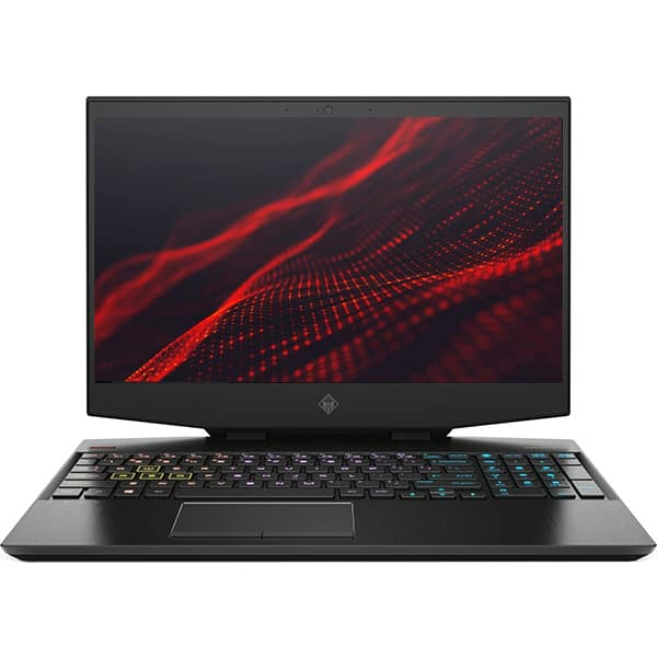 "Laptop Gaming HP Omen 15-dh0028nq, Intel Core i9-9880H pana la 4.8GHz, 15.6"" Full HD, 32GB, HDD 1TB + SSD 512GB, NVIDIA GeForce RTX 2080 Max-Q 8GB, Free Dos, negru"