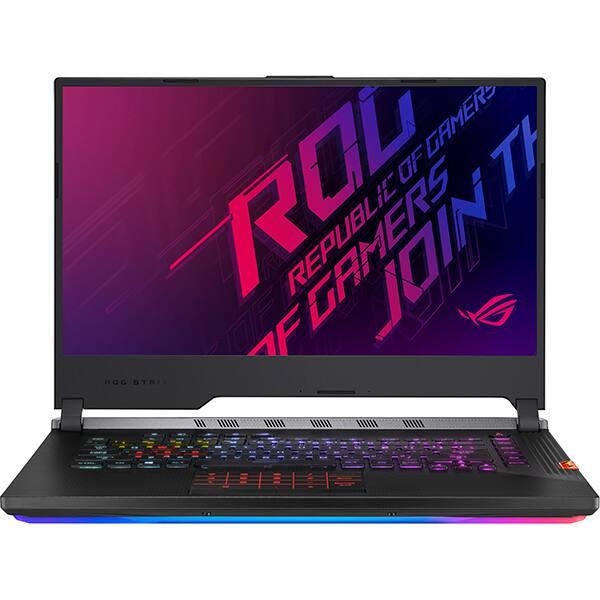 "Laptop Gaming ASUS ROG Strix Scar lll G531GU-ES539, Intel Core i7-9750H pana la 4.5GHz, 15.6"" Full HD, 8GB, SSD 1TB, NVIDIA GeForce GTX 1660 Ti 6GB, Free Dos, Gunmetal Gray"