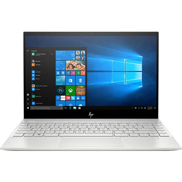 "Laptop HP Envy 13-aq1012nq, Intel Core i7-1065G7 pana la 3.9GHz, 13.3"" Full HD, 8GB, SSD 512GB, Intel Iris Plus Graphics, Windows 10 Home, argintiu"