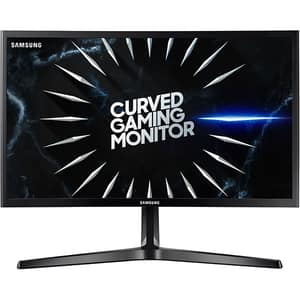 "Monitor Gaming curbat LED VA SAMSUNG LC24RG50FQRXEN, 23.5"", Full HD, 144Hz, FreeSync, negru"