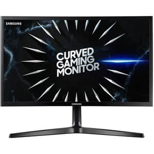 "Monitor Gaming curbat LED VA SAMSUNG LC24RG50FQUXEN, 23.5"", Full HD, 144 Hz, FreeSync, negru"