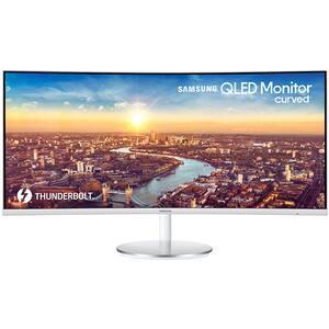 """Monitor Gaming curbat QLED VA SAMSUNG LC34J791WTUXEN, 34"""", WQHD, 100Hz, FreeSync, alb"""
