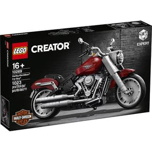 LEGO Creator Expert: Harley-Davidson Fat Boy 10269, 16 ani+, 1023 piese
