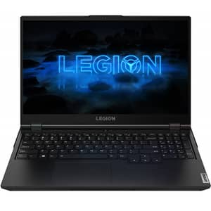 "Laptop Gaming LENOVO Legion 5 15ARH05H, AMD Ryzen 7 4800H pana la 4.2GHz, 15.6"" Full HD, 8GB, SSD 512GB, NVIDIA GeForce GTX 1660 Ti 6GB, Free DOS, negru"
