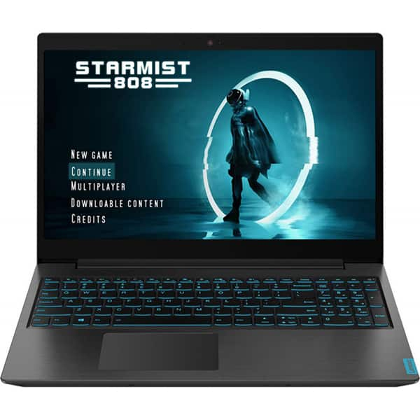 "Laptop Gaming LENOVO IdeaPad L340-15IRH, Intel Core i5-9300H pana la 4.1GHz, 15.6"" Full HD, 8GB, SSD 512GB, NVIDIA GeForce GTX 1050 3GB, Free DOS, negru"
