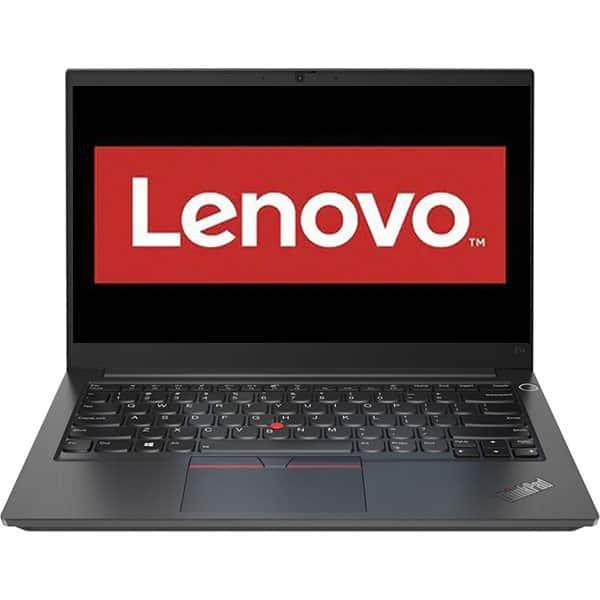 "Laptop LENOVO ThinkPad E14 Gen 2, Intel Core i7-1165G7 pana la 4.7GHz, 14"" Full HD, 16GB, SSD 512GB, Intel Iris Xe Graphics, Free DOS, negru"