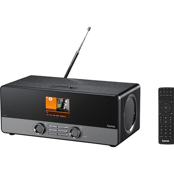Radio cu internet HAMA DIR3100, FM, Wi-Fi, negru