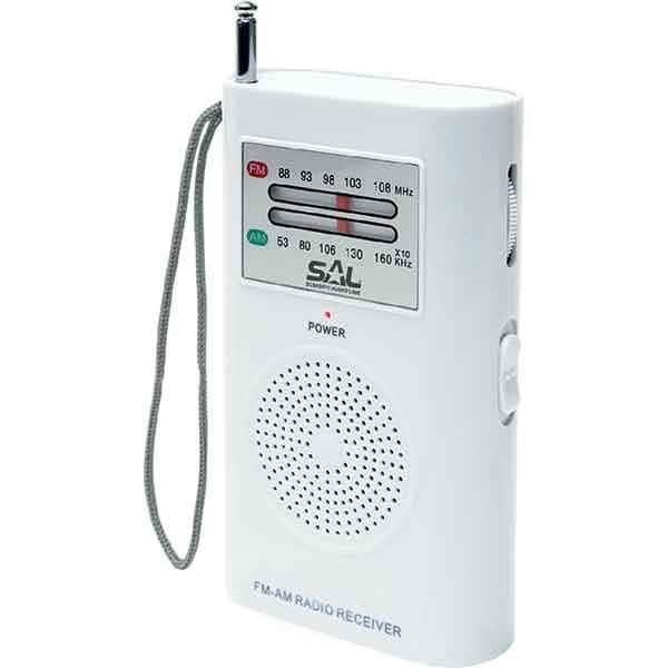 Radio portabil SAL RPC 2B, FM, alb