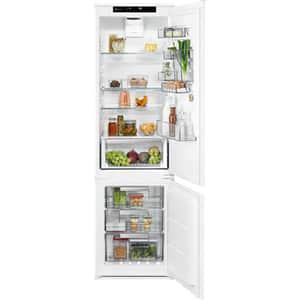 Combina frigorifica incorporabila ELECTROLUX LNS8TE19S, Frost free, 267 l, H 188.4 cm, Clasa E, alb