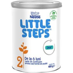 Lapte praf NESTLE Little Steps 2 12398140, 6 luni+, 400g