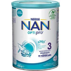 Lapte praf NESTLE NAN Optipro 3 HM-O 12426390, 1-2 ani, 400g