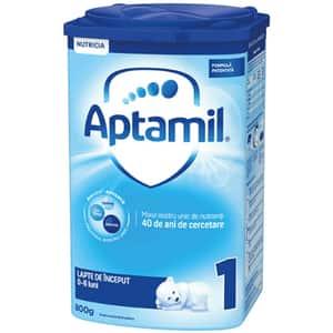 Lapte praf APTAMIL 1 Pronutra Advance 579276, 0-6 luni, 800g