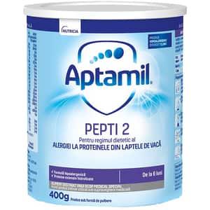 Formula speciala de lapte APTAMIL Pepti 2 581688, 6 luni+, 400g