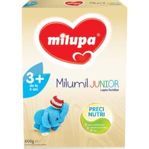Lapte praf MILUPA MILUMIL Junior 3+ PreciNutri 587577, 3 ani+, 600g