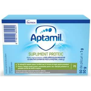 Supliment proteic APTAMIL 598945, 0 luni+, 50g