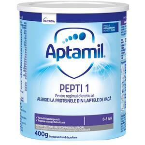 Formula speciala de lapte APTAMIL Pepti 1 616288, 0 luni+, 400g