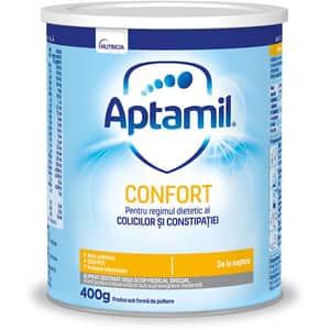Formula speciala de lapte APTAMIL Confort 646476, 0 luni+, 400g