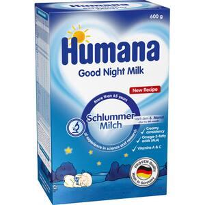 Lapte praf HUMANA Good Night 70174, 6 luni+, 600g