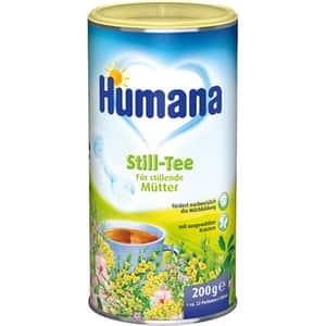 Ceai instant pentru stimularea lactatiei HUMANA 73040, 200g
