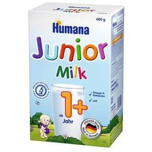 Lapte praf HUMANA Junior 1+ 78094, 12 luni+, 600g