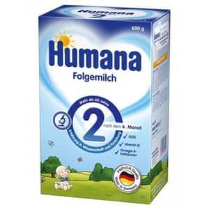 Lapte praf HUMANA 2 GOS 78557, 6 luni+, 600g