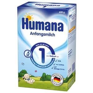 Lapte praf HUMANA 1 GOS 785718, 0-6 luni, 600g