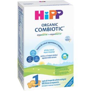 Lapte praf HIPP Organic Combiotic 1 1299, 0 luni+, 300g