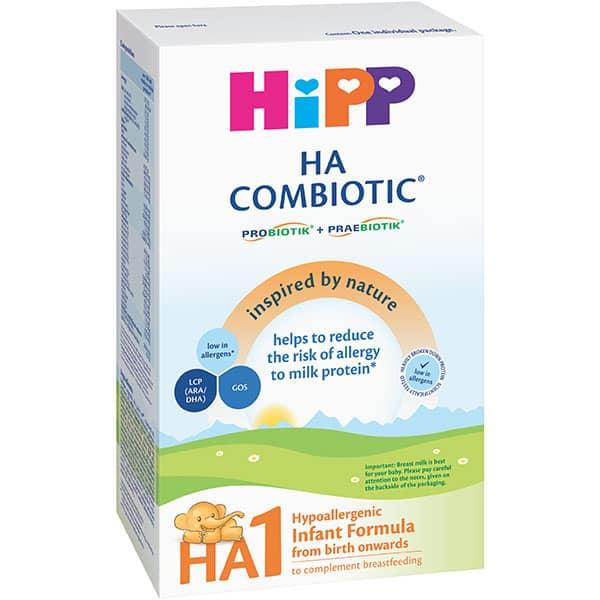 Formula speciala de lapte HIPP HA1 Combiotic 1303, 0 luni+, 350g