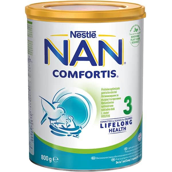 Lapte praf NESTLE NAN Comfortis 3 12418710, 1-2 ani, 800g