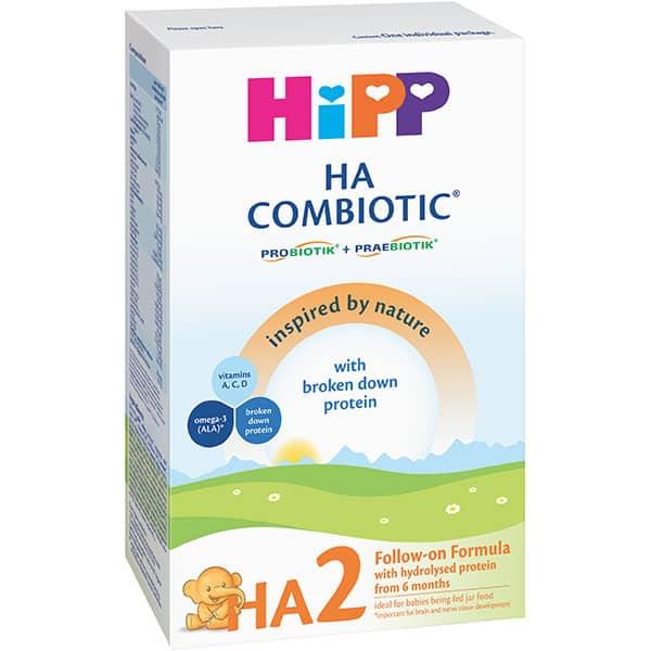 Formula speciala de lapte HIPP HA2 Combiotic 1335, 6 luni+, 350g