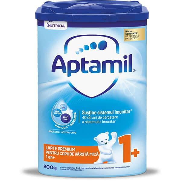 Lapte praf APTAMIL Junior 1+ Pronutra Advance 591028, 12 luni+, 800g