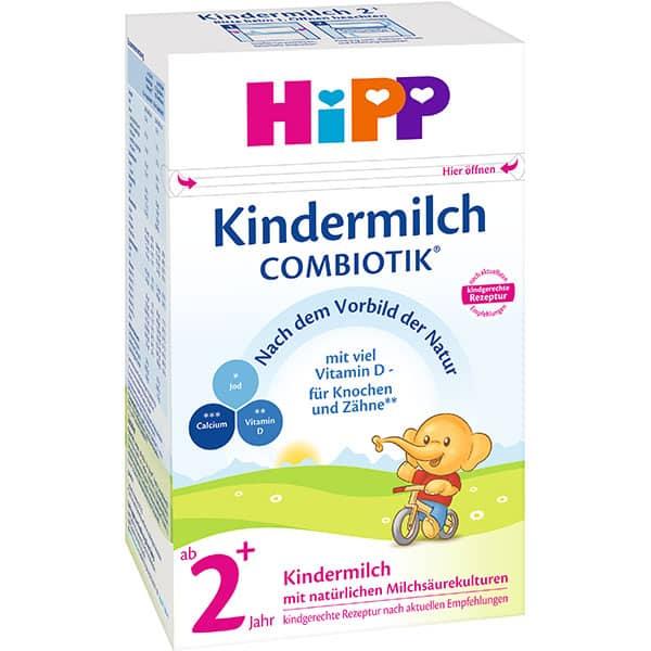 Lapte praf HIPP Combiotic 2+ 1584, 2 ani+, 600g