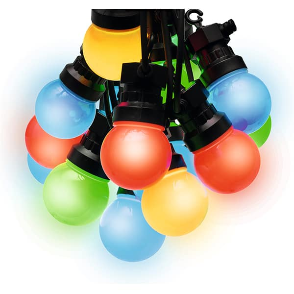 Ghirlanda Party cu LED HOME LPL 10M, 10 globuri LED