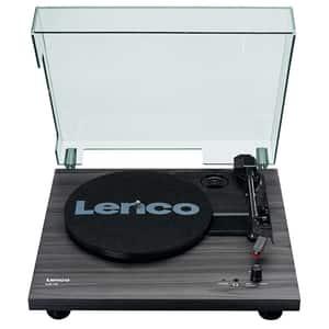 Pick-up LENCO LS-10BK, boxe integrate, negru
