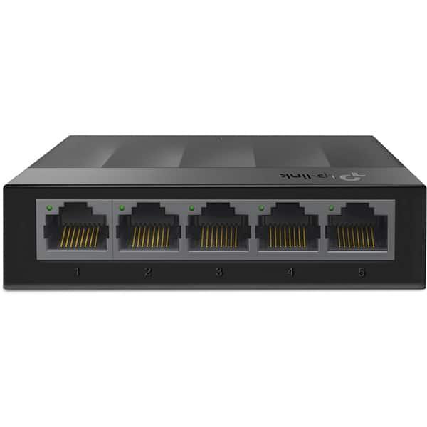 Switch TP-LINK LS1005G, 5 porturi Gigabit, negru