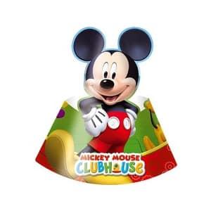 Coif din gama Party Clubul lui Mickey, 6 buc/set
