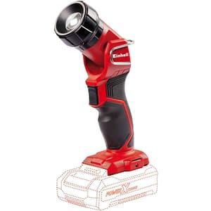 Lanterna EINHELL Power-X-Change TE-CL 18 Li H-Solo, 18 V, 280 lm, negru-rosu