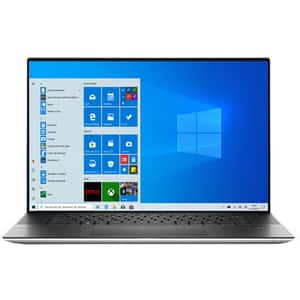"Laptop DELL XPS 9700, Intel Core i7-10875H pana la 5.1GHz, 17"" UHD+ Touch, 16GB, SSD 1TB, NVIDIA GeForce RTX 2060 Max-Q 6GB, Windows 10 Pro, argintiu"