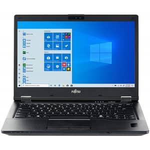 "Laptop FUJITSU LifeBook E5410, Intel Core i5-10210U pana la 4.2GHz, 14"" Full HD, 8GB, SSD 256GB, Intel UHD Graphics, Windows 10 Pro, negru"