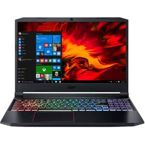 "Laptop Gaming ACER Nitro 5 AN515-44-R1CZ, AMD Ryzen 5-4600H pana la 4.0GHz, 15.6"" Full HD, 8GB, SSD 512GB, NVIDIA GeForce GTX 1650Ti 4GB, Windows 10 Home, negru"