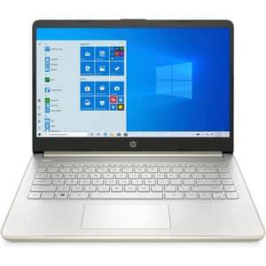 "Laptop HP 14s-dq1018nq, Intel Core i7-1065G7 pana la 3.9GHz, 14"" Full HD, 8GB, SSD 512GB, Intel Iris Plus Graphics, Windows 10 Home, auriu"