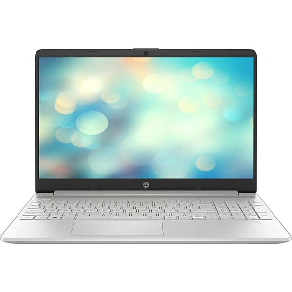 "Laptop HP 15s-fq2031nq, Intel Core i7-1165G7 pana la 4.7GHz, 15.6"" Full HD, 16GB, SSD 512GB, Intel Iris Xe Graphics, Free Dos, argintiu"