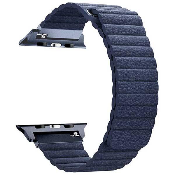 Bratara pentru Apple Watch 38mm, PROMATE Lavish-38, albastru
