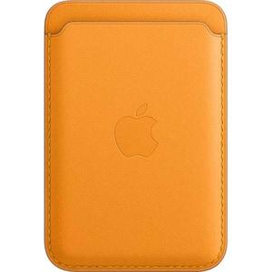 Portofel Apple din piele cu MagSafe pentru Apple iPhone 12/12 mini/12 Pro/12 Pro Max, MHLT3ZM/A, Saddle Brown